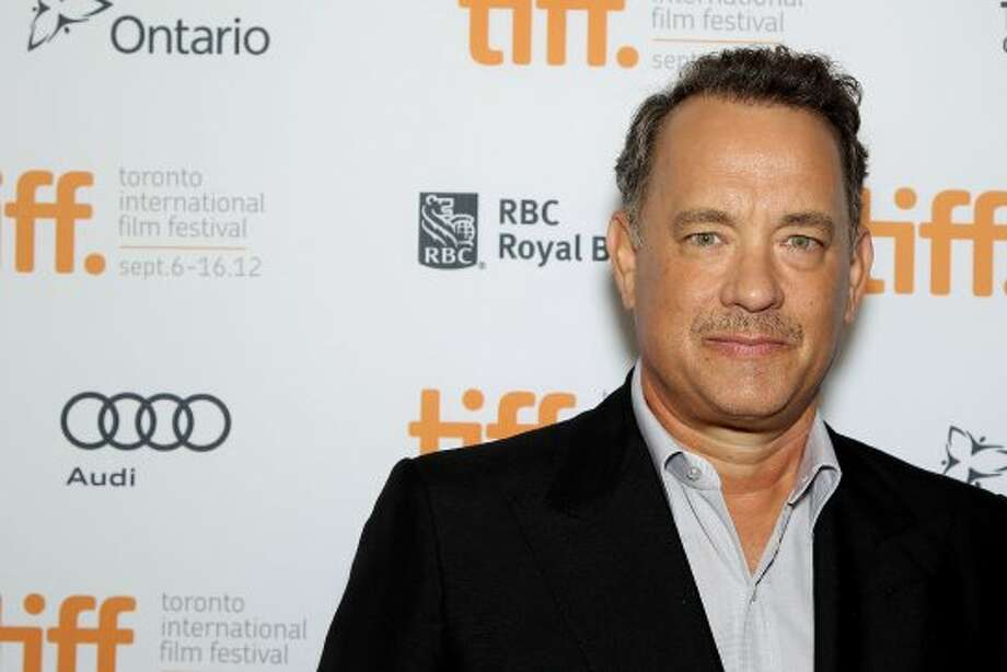 "This image released by Starpix shows actor Tom Hanks at the premiere of ""Cloud Atlas."" (ASSOCIATED PRESS)"