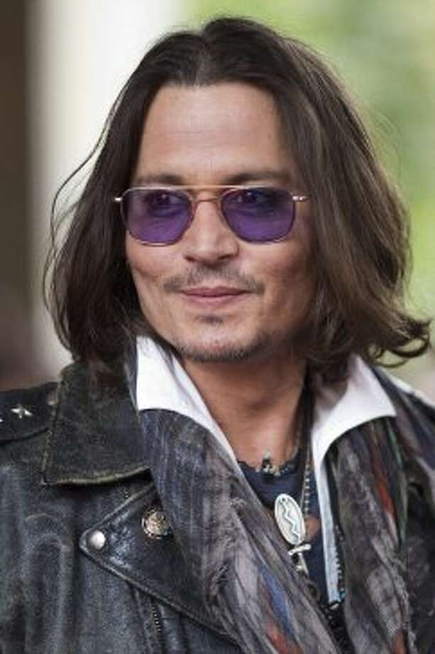 "Actor Johnny Depp is pictured at the gala for the movie ""West of Memphis."" (ASSOCIATED PRESS)"