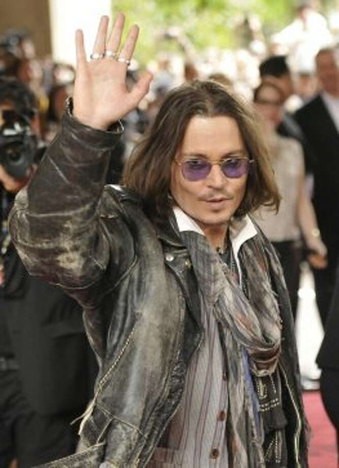 "Actor Johnny Depp attends the ""West of Memphis"" film premiere at Ryerson Theatre. (EVAN AGOSTINI /INVISION/AP)"