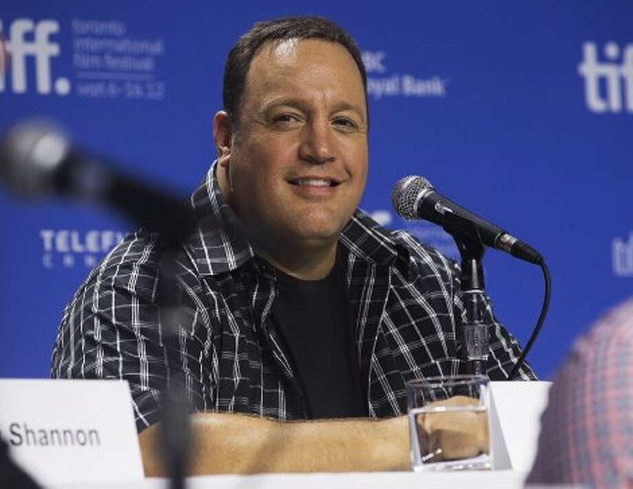 "Actor Kevin James attends a press conference for the new movie ""Hotel Transylvania."" (AP)"