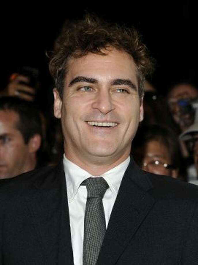 "Actor Joaquin Phoenix attends the premiere of ""The Master."" (EVAN AGOSTINI /INVISION/AP)"