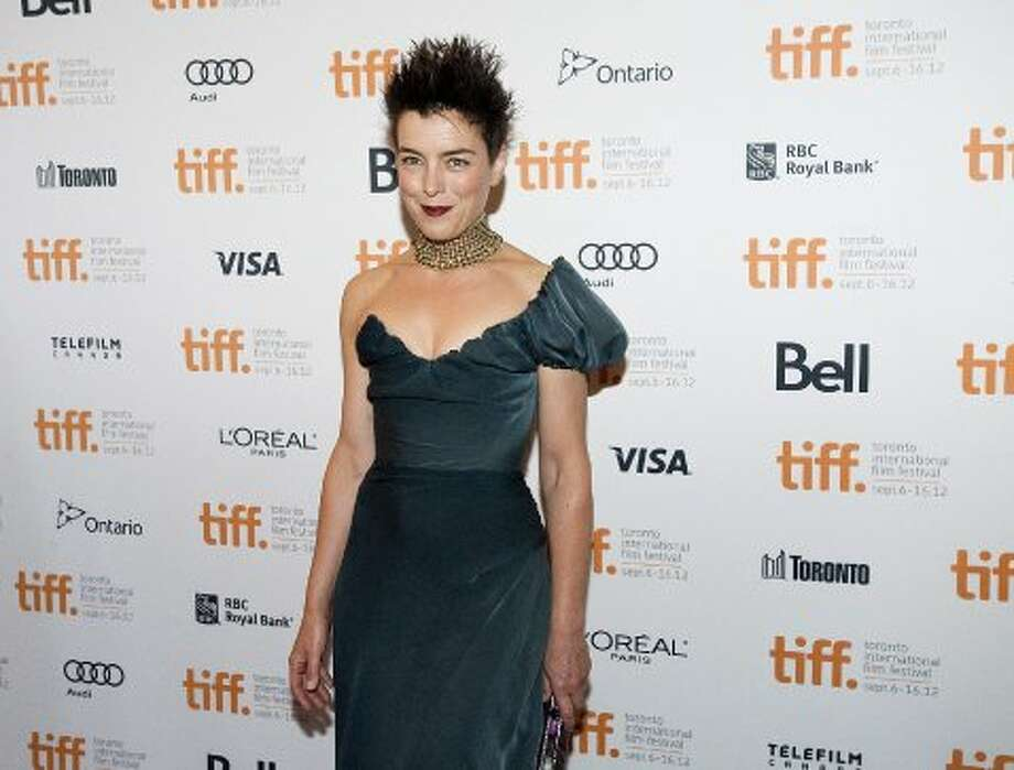 "Actress Olivia Williams walks the red carpet at the Elgin Theatre for the film ""Anna Karenina."" (ASSOCIATED PRESS)"