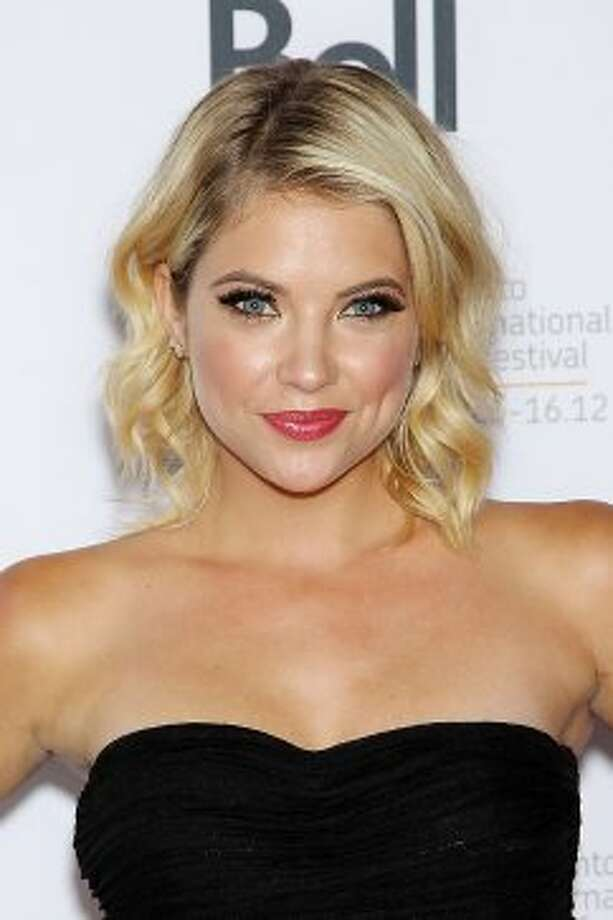 "In this image released by Starpix, actress Ashley Benson poses at the premiere of ""Spring Breakers."" (ASSOCIATED PRESS)"