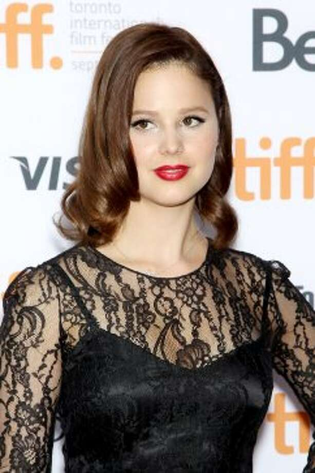 "In this image released by Starpix, actress Rachel Korine poses at the premiere of ""Spring Breakers."" (ASSOCIATED PRESS)"