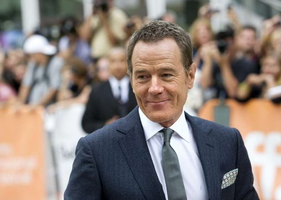 "Bryan Cranston poses for a photograph on the red carpet at the gala for the new movie ""Argo."" (ASSOCIATED PRESS)"