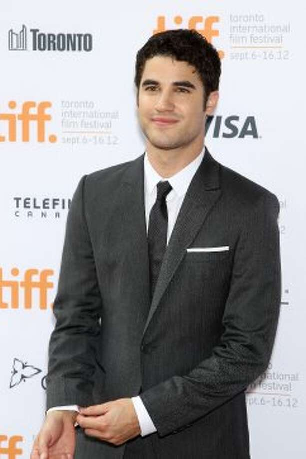 "This image released by Starpix shows actor Darren Criss arrives at the gala for the new movie ""Imogene."" (ASSOCIATED PRESS)"