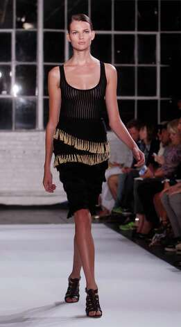 The Altuzarra Spring 2013 collection is modeled. Photo: Jason DeCrow
