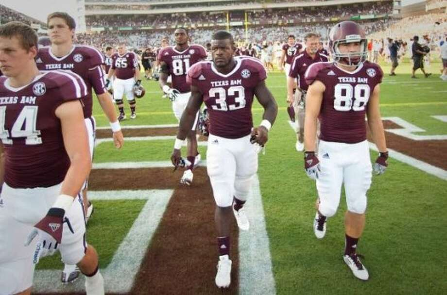 5. Texas A&M(Last week 4, next week at SMU) —  Same ol' Aggies? Another second-half collapse, although Manziel shows hope for the future with spectacular first-half performance. Nick De La Torre/Houston Chronicle