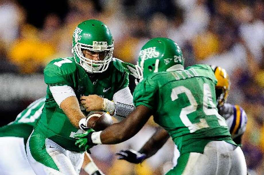 8. North Texas (Last week 9, next week at Kansas State) — Big-play Mean Green defense notches three interceptions, four sacks vs. Texas Southern as they win their home opener for the first time since 2006. Stacy Revere/Getty Images