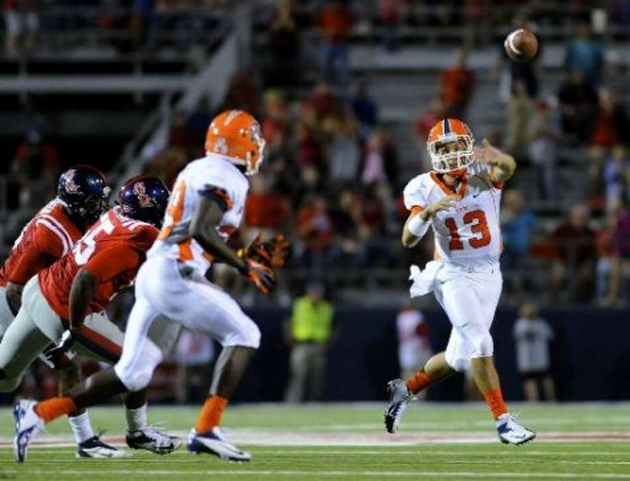 10. UTEP (Last week 8,  next week vs. New Mexico State) — Miners need some life from offense that scored three points on three trips inside Mississippi 15 and has produced 10 points in each of first two losses. Austin McAfee/Associated Press