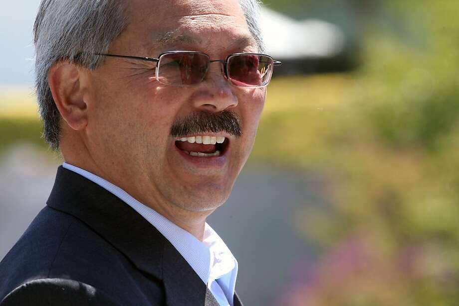 Mayor Ed Lee has a favorable approval rating with 49 percent of voters, a survey finds. Photo: Lance Iversen, The Chronicle
