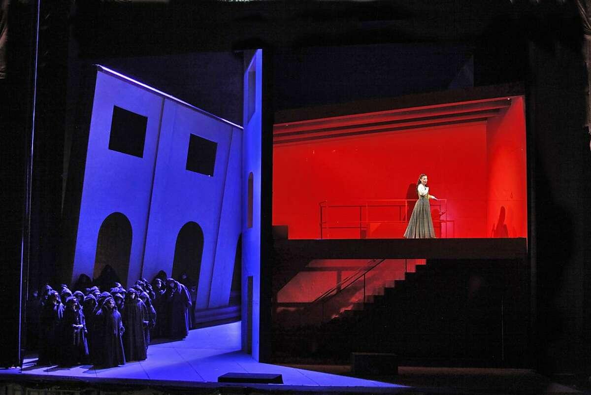 Rigoletto San Francisco Opera Chorus and Aleksandra Kurzak (Gilda).