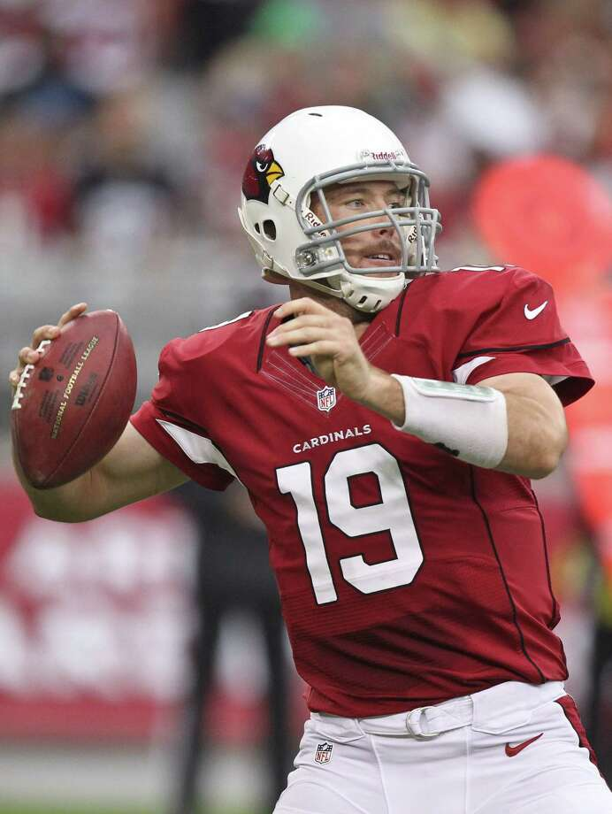 Arizona Cardinals quarterback John Skelton (19) looks to throw against the Seattle Seahawks during the first half of an NFL football game, Sunday, Sept. 9, 2012,in Glendale, Ariz. Photo: AP