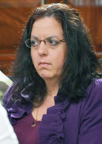 Special counsel to the governor, Linda Lacewell listens as Gov. Andrew Cuomo holds a news conference at the Capitol Tuesday June 19, 2012.  (John Carl D'Annibale / Times Union) Photo: John Carl D'Annibale