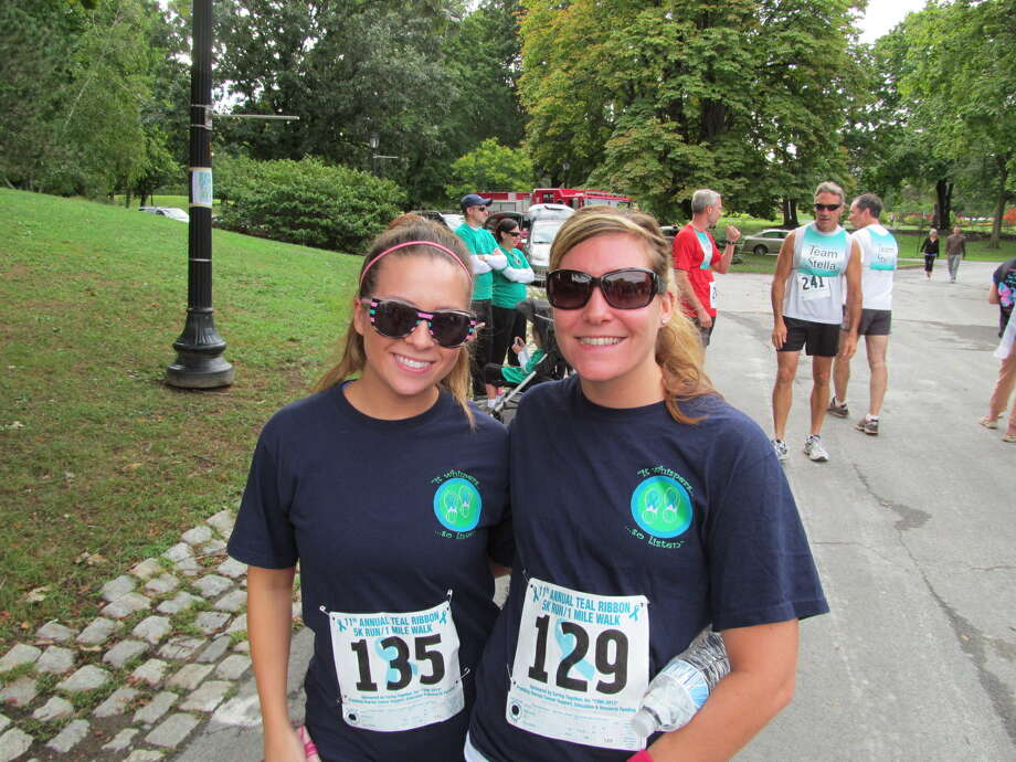Were you Seen at the 11th Annual Teal Ribbon Run/Walk at Washington Park in Albany on September 9, 2012? Photo: Kristi Gustafson Barlette/Times Union