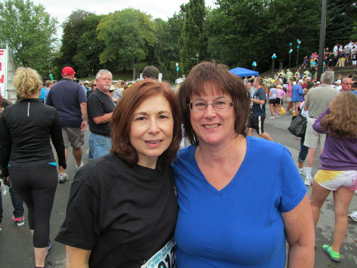 Were you Seen at the 11th Annual Teal Ribbon Run/Walk at Washington Park in Albany on September 9, 2012?
