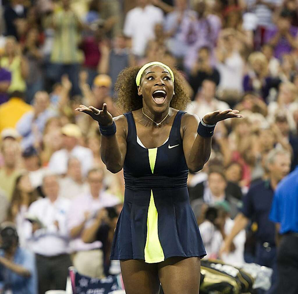 Serena Williams challenged two guys at Dolores Park to an