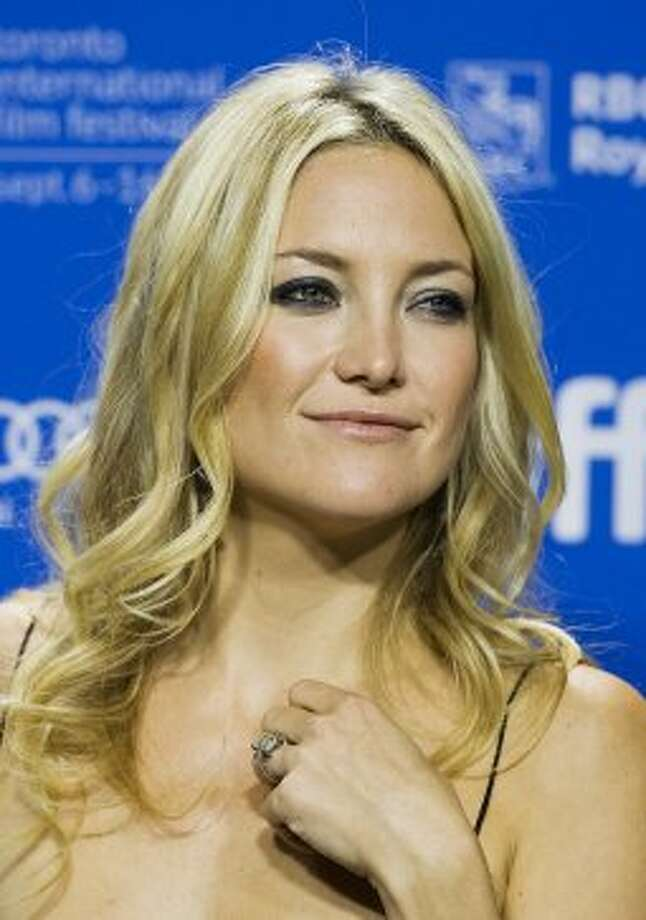 "Actress Kate Hudson poses prior to the press conference for the film ""The Reluctant."" (ASSOCIATED PRESS)"