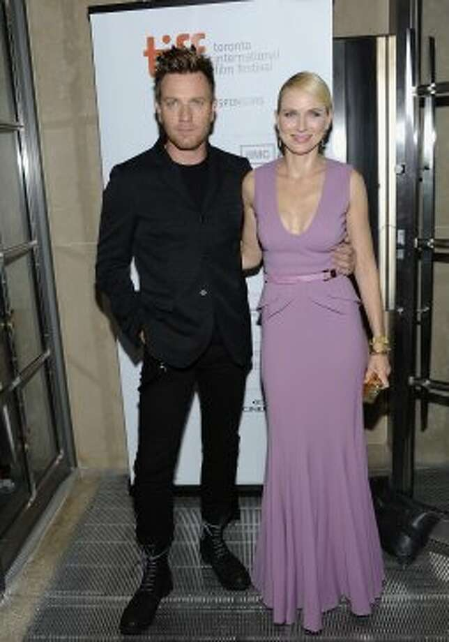 "Actors Ewan McGregor and Naomi Watts arrive at ""The Impossible"" premiere. (EVAN AGOSTINI /INVISION/AP)"