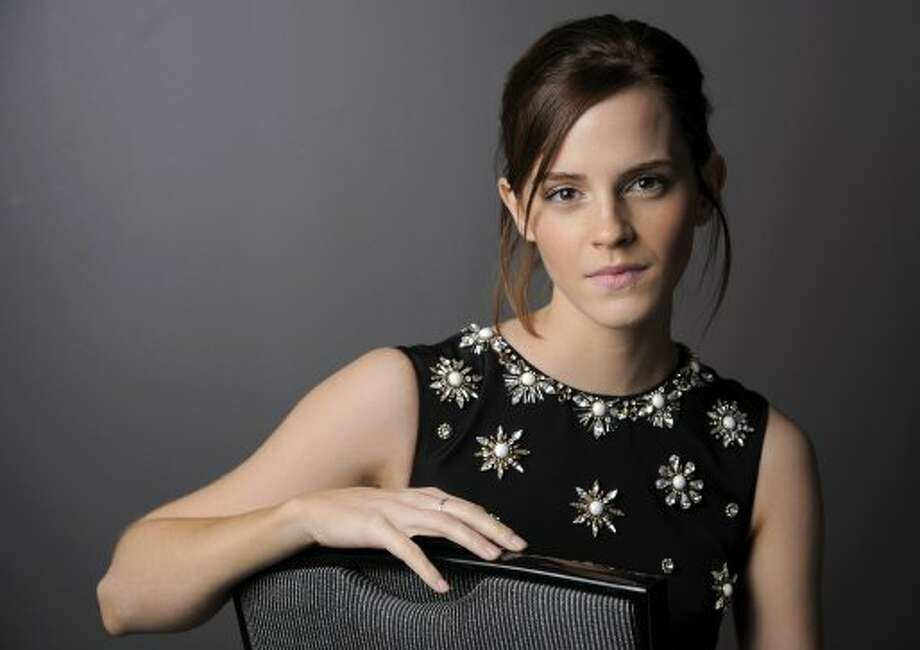 "Emma Watson, a cast member in ""The Perks of Being a Wallflower,"" poses for a portrait. (CHRIS PIZZELLO/INVISION/AP)"