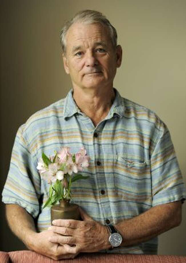 "Bill Murray, a cast member in the film ""Hyde Park on Hudson,""  poses for a portrait. (CHRIS PIZZELLO/INVISION/AP)"