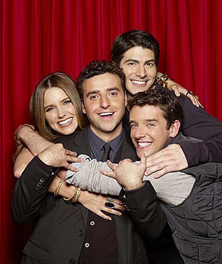 PARTNERS, starring (l-r) Sophia Bush, David Krumholtz, Brandon Routh and Michael Urie premieres Monday, Sept. 24 (8:30 PM- 9:00 PM, ET/PT) on the CBS Television Network Photo: Matt Hoyle/CBS © 2012 CBS Broadcasting Inc. All Rights Reserved. (Matt Hoyle / ©2012 CBS Broadcasting Inc. All Rights Reserved)