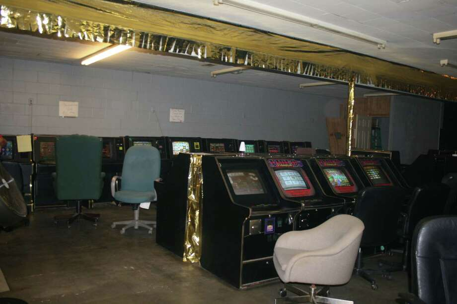 43 gaming machines were seized in a Sunday morning raid in Evadale. Photo: Courtesy Photo/Jasper County Sheriff's Department