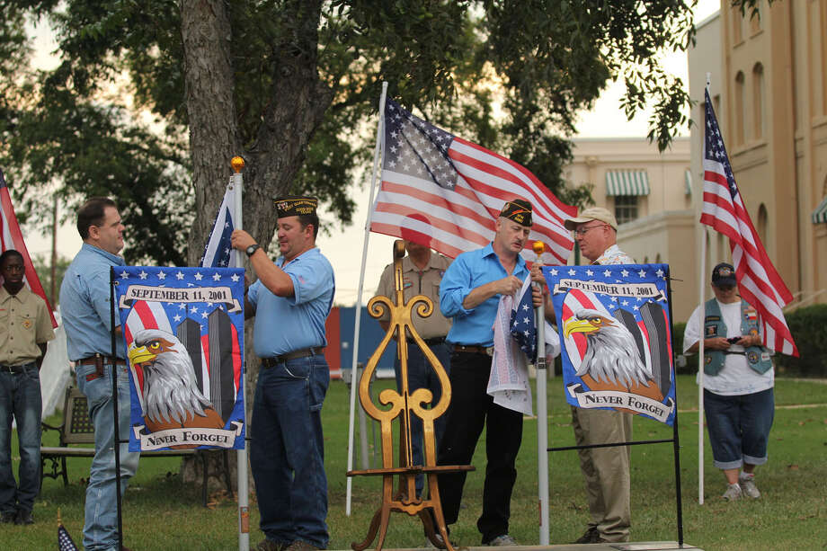 Jasper's 9-11 service Photo: Jason Dunn