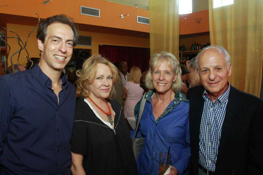Christopher Rothko, from left, Martha Claire Tompkins, Suzan Gutterman and Jordan Gutterman Photo: Gary Fountain / Copyright 2012 Gary Fountain.
