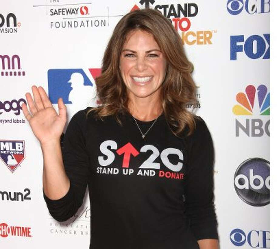 Jillian Michaels attends the Stand Up To Cancer benefit at The Shrine Auditorium on September 7, 2012 in Los Angeles, California.  (Frederick M. Brown / Getty Images)