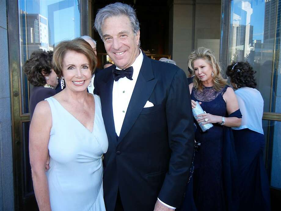Rep. Nancy Pelosi and husband Paul Pelosi celebrate their 49th wedding anniversary. Photo: Catherine Bigelow, Special To The Chronicle
