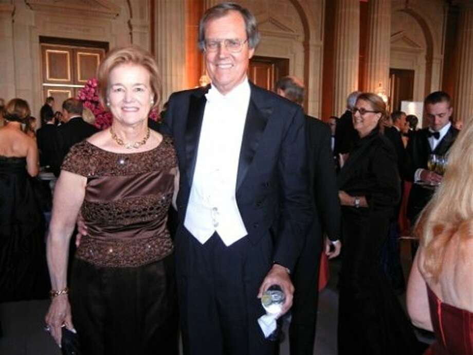 Leslie Hume and her husband, SF Opera Board President George Hume (Catherine Bigelow)