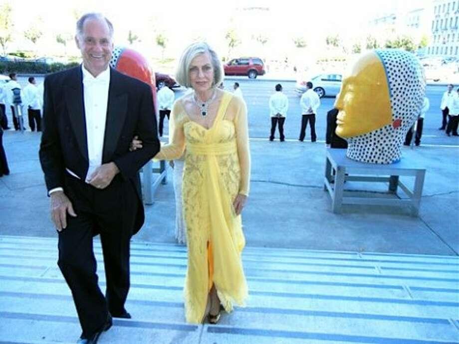 Ken and Dorothy Paige (in Carolina Herrera) (Catherine Bigelow)