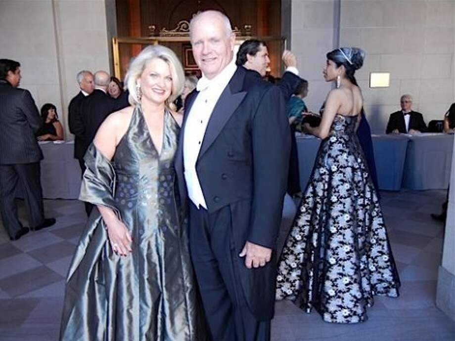 Adrianna Pope Sullivan (in Michael Casey) and her husband, Bobby Sullivan (Catherine Bigelow)