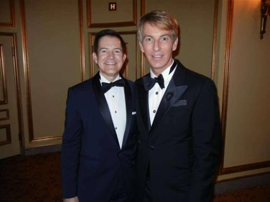 Trent Norris (left) and his partner, Banan Republic President and SF Opera Trustee Jack Calhoun (Catherine Bigelow)