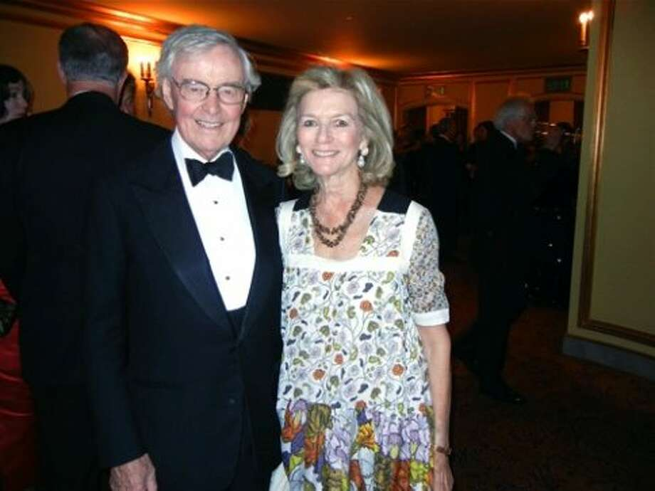 The Hon. Howard Leach and his wife, Gretchen Leach (Catherine Bigelow)