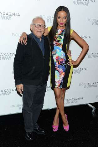 Max Azria at models during NY Fashion Week show for Tuesday Sept. 11 SA LIFE Photo: Jason Kempin, Staff / 2012 Getty Images