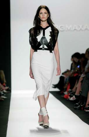 BCBG (Max Azria photos for Tuesday's NY Fashion Week story. Photo: Richard Drew, STF -end- / AP