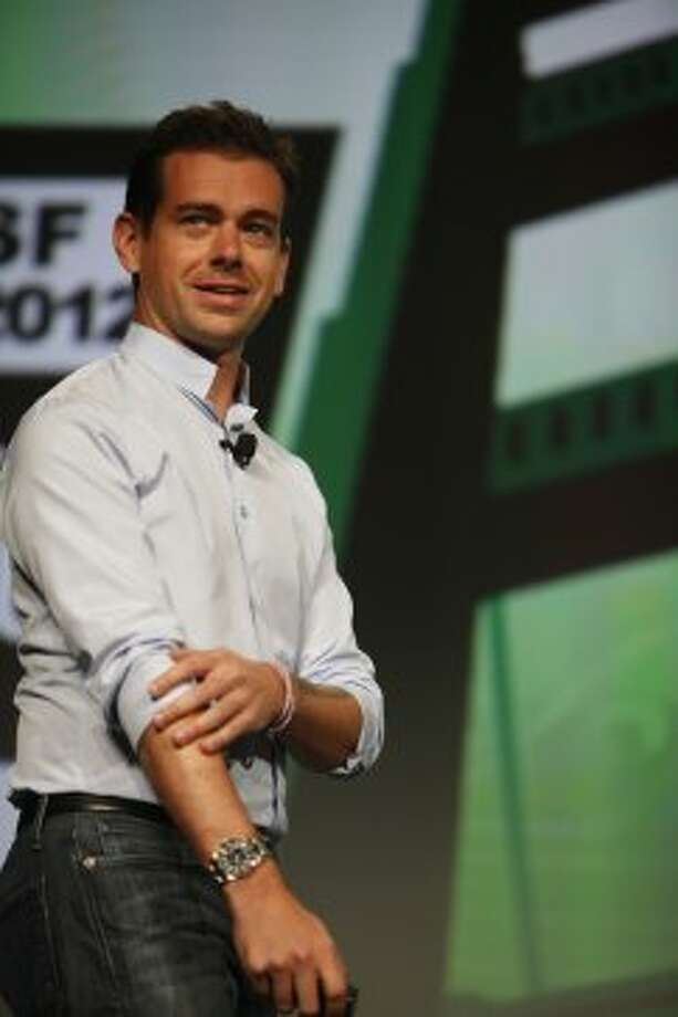 Jack Dorsey, co-founder & CEO, Square; co-founder & chairman, Twitter; speaks during the keynote at TechCrunch Disrupt SF 2012 at The Concourse at San Francisco Design Center on Monday, September 10, 2012 in San Francisco, Calif. (Lea Suzuki / The Chronicle)