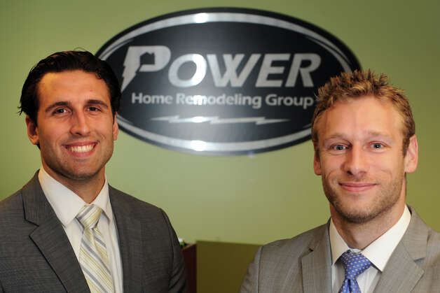 Tim Federowicz and Sutton Underwood at Power Home Remodeling Group, in Stratford, Conn. July 17th, 2012. Photo: Ned Gerard