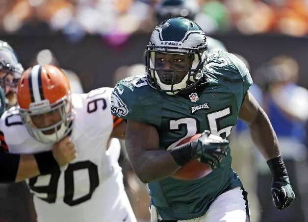 LeSean McCoy, Eagles, 20 carries, 110 yards, 0 touchdowns. Mark Duncan/Associated Press Photo: Associated Press