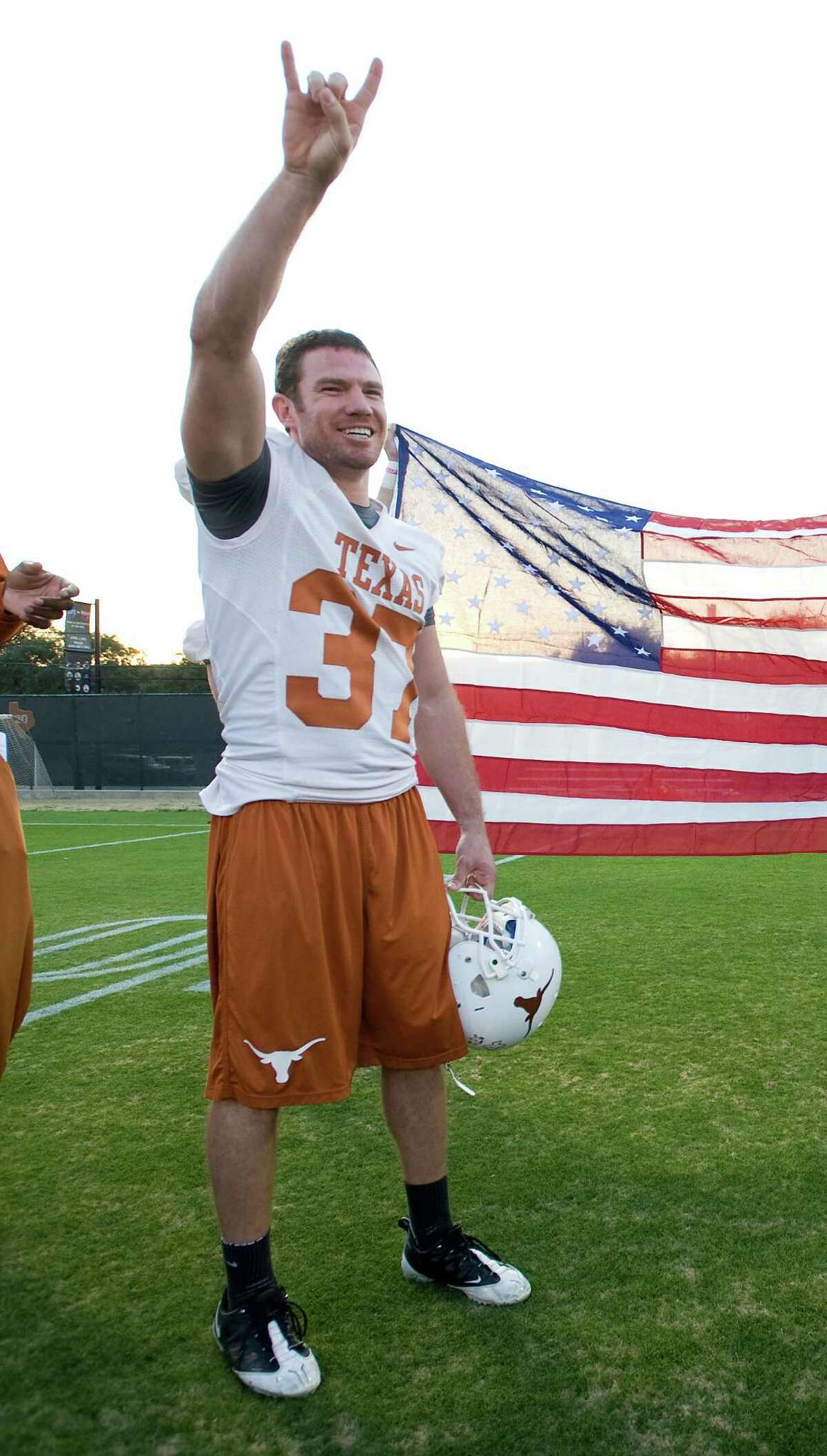 Nate Boyer's work ethic has served him well in his rise at UT.