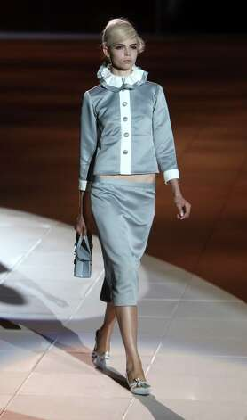 The Marc Jacobs Spring 2013 collection is modeled. Photo: Seth Wenig