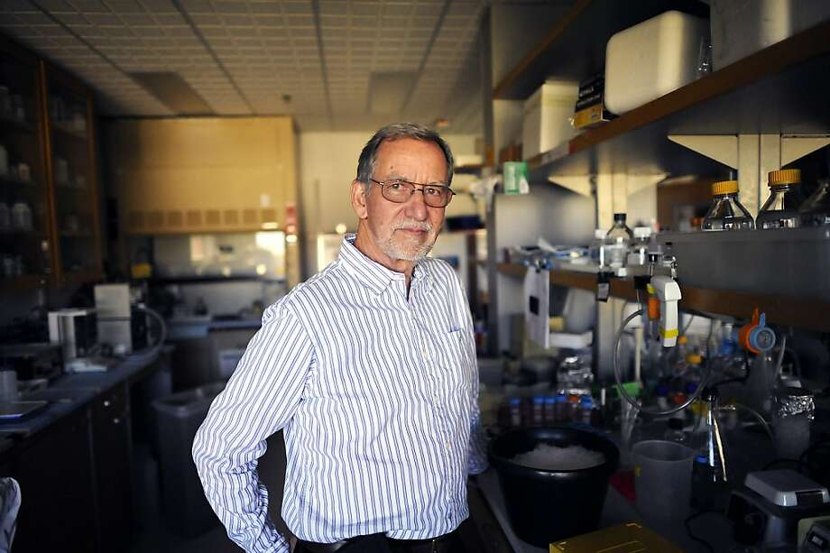 "Dr. James Spudich of Stanford is a recipient of the Lasker Award for his work on ""molecular motors."" Photo: Michael Short, Special To The Chronicle"
