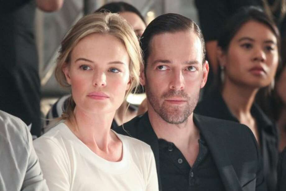 Actress Kate Bosworth (L) and director Michael Polish attend the Altuzarra Spring 2013 show during Mercedes-Benz Fashion Week. (Chelsea Lauren / Getty Images)