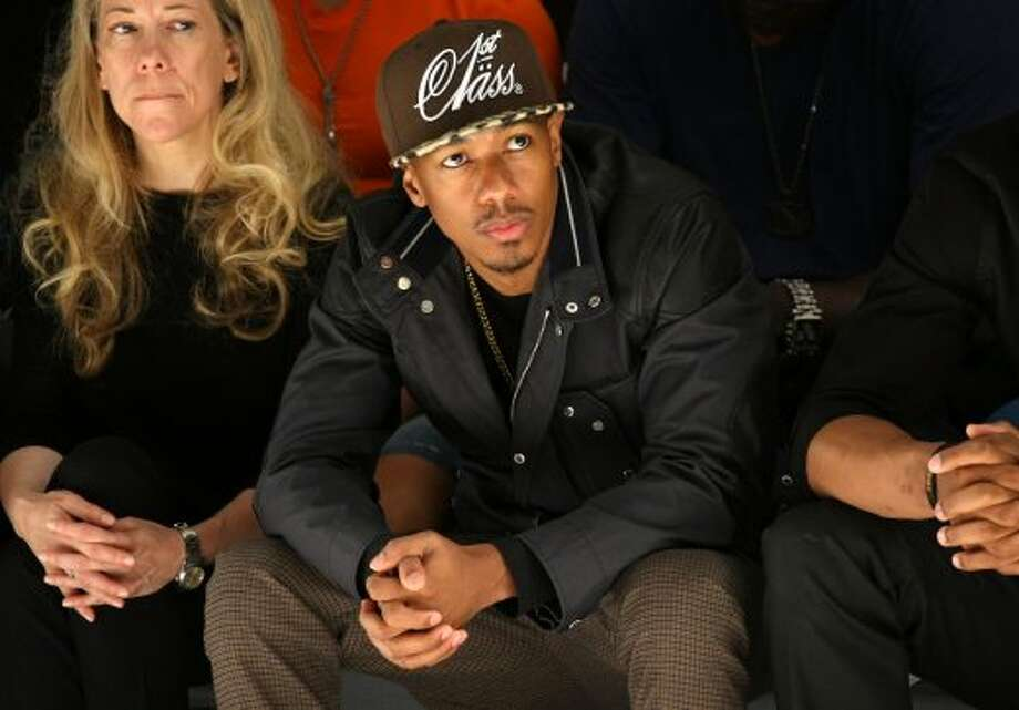 Nick Cannon attends the Richard Chai Love Spring 2013 show during Mercedes-Benz Fashion Week. (Neilson Barnard / 2012 Getty Images)