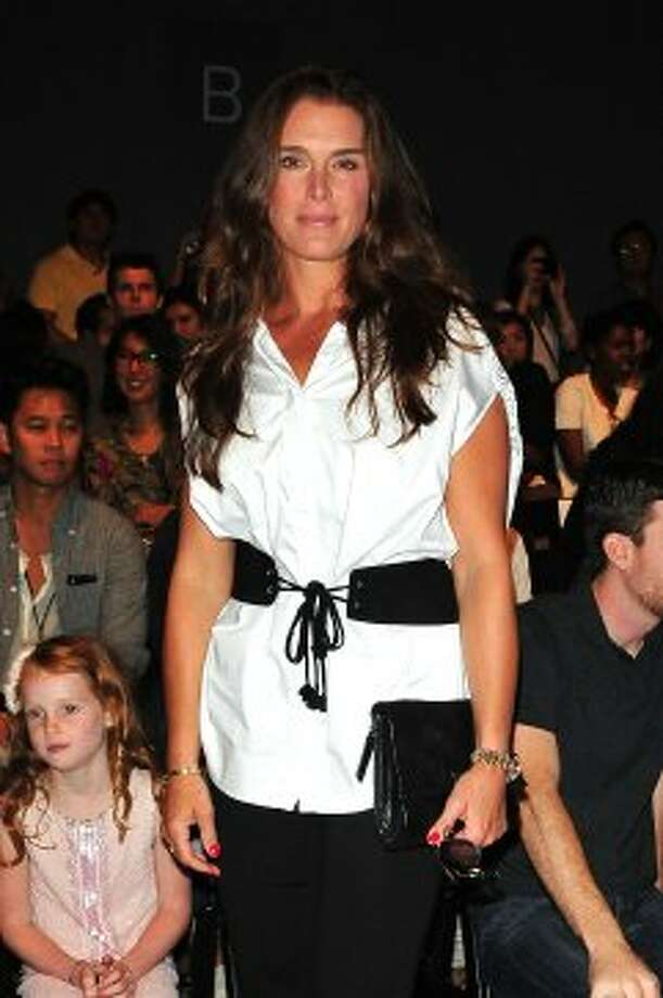 Brooke Shields attends the Son Jung Wan Spring 2013 show during Mercedes-Benz Fashion Week. (Dario Cantatore / 2012 Getty Images)