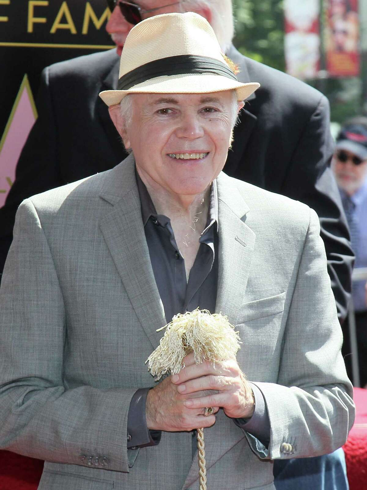Actor Walter Koenig attends his being honored with a star on the Hollywood Walk of Fame on September 10, 2012 in Hollywood, California. He is scheduled to make an appearance at Celebrity Fan Fest in San Antonio.