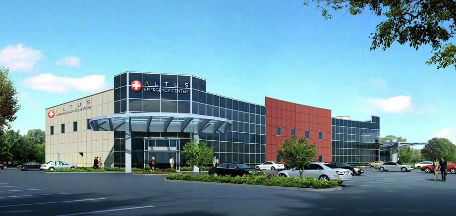 Artists rendering of the new Altus and Setma Healthcare Facility to be constructed on North LHS drive. Photo: Submission, Altus And Setma Healthcare Facil