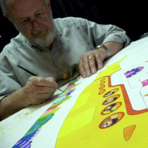 "Animator Ron Campbell, who worked on the Beatles film ""Yellow Submarine"" and ""The Beatles"" Saturday morning cartoon series, will paint and sell his acclaimed watercolor images at the KZEP Zeptember Classic Rock Art Show & Sale. Photo: Courtesy Photo"